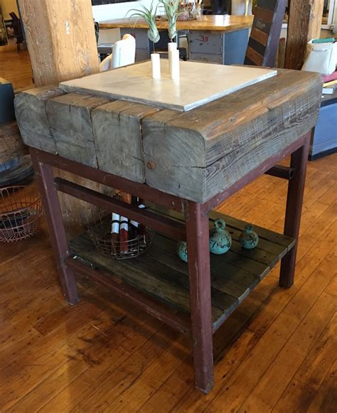 industrial kitchen island industrial kitchen island vintage industrial butcher