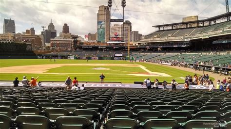 section 120 comerica park detroit tigers seating guide comerica park