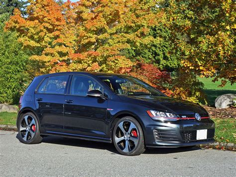 Golf Gti 2015 by 2015 Volkswagen Golf Gti 5 Door Autobahn Road Test Review