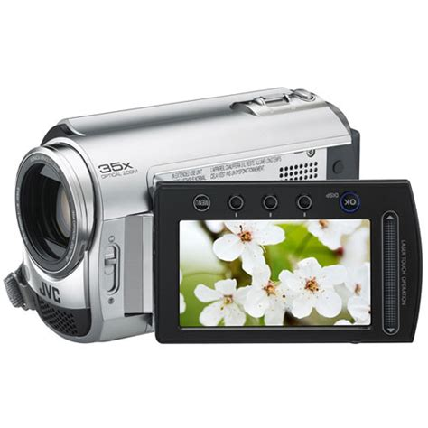 how to update jvc everio jvc gz mg330 everio hybrid camcorder silver gz mg330hus b h