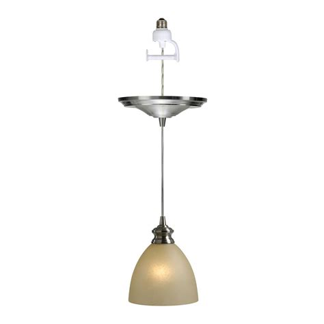 Instant Pendant Light Worth Home Products Pbn 6012 Instant Pendant Light Recessed Light Convertible Pendant Kit Atg