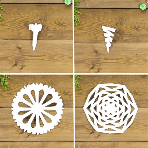Best Paper To Make Stencils - diy paper snowflakes how to make a basic paper snowflake