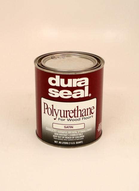 Dura Seal Satin Oil Based Polyurethane for Hardwood Floors