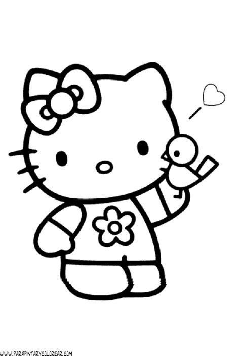 dibujos para pintar hello kitty hello kitty printable color pages page 2 search results