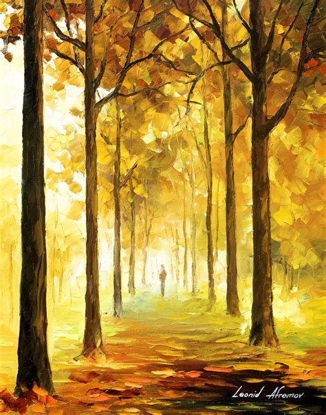 yellow mood yellow mood palette knife oil painting on canvas by