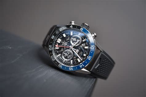 Bor Gmt tag heuer heuer 02 gmt chronograph on review specs price