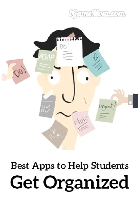 Help Getting Organized Get Organized With Organizational | apps to help students get organized