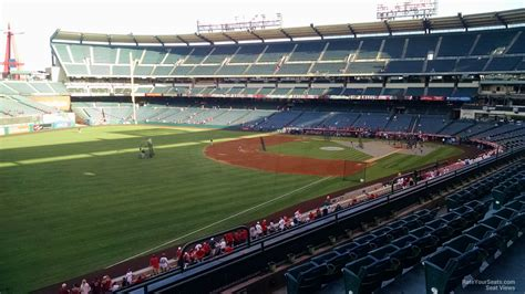 section 8 anaheim angel stadium section 307 rateyourseats com