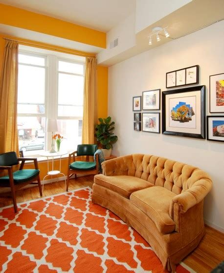 yellow and orange rooms apartments i like blog