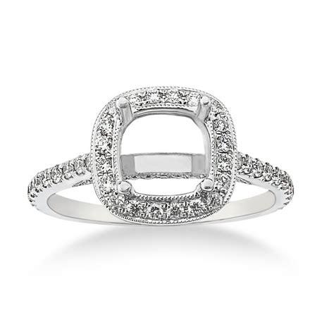 engagement ring halo fischer jewelry designs