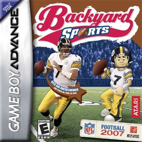 backyard football gba backyard football 2007 nintendo game boy advance