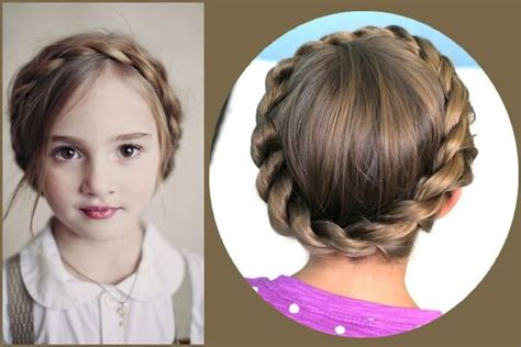 crown braid short hair hairstyles 50 first communion hairstyles ideas hair motive hair motive