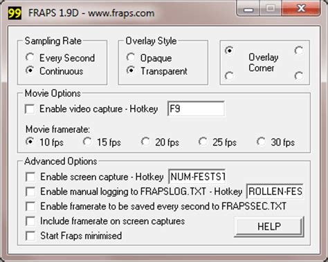 fraps full version kostenlos fraps letzte freeware version download chip