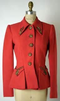 Jacket Elsa jacket elsa schiaparelli 1940s the metropolitan museum of
