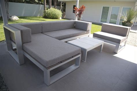 26 inspirations of modern curved outdoor sofa sets