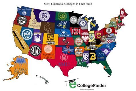 collegiate pricing maps expensive colleges