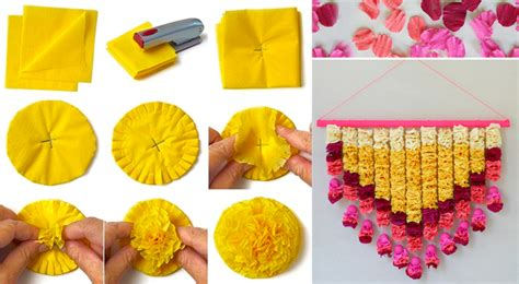 How To Make Paper Decorations At Home - diwali decoration craft best out of waste wiki how