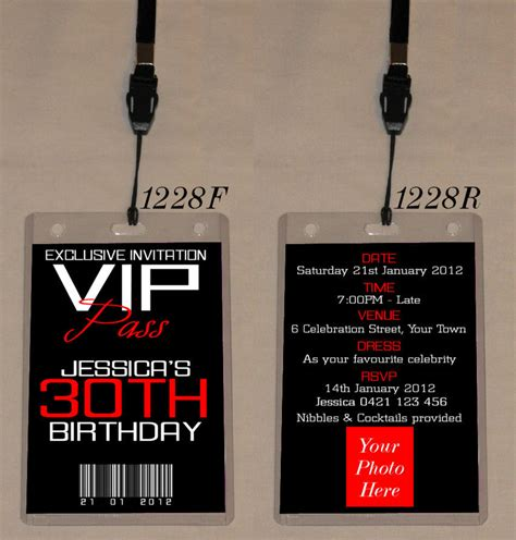 codashop usa birthday party invitation lanyards gallery invitation