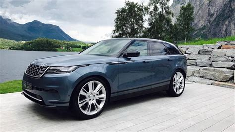 land rover velar the 2018 range rover velar review a less is way