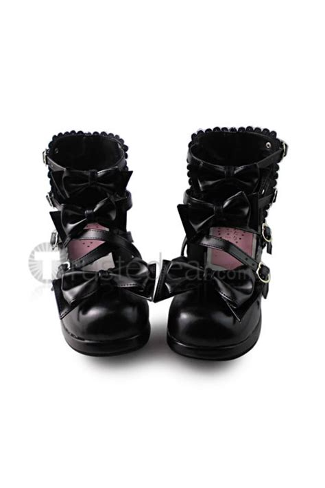 Sweet Black Shoes sweet bows black shoes