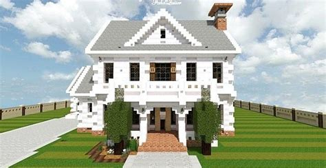 design a mansion georgian home minecraft house design