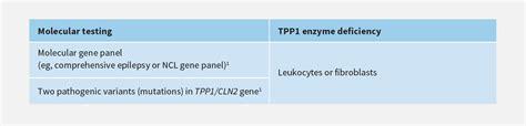 management strategies for cln2 disease sciencedirect laboratory testing hcp