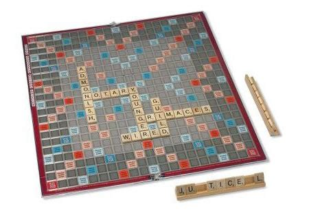 squares on a scrabble board scrabble board with the number of squares for