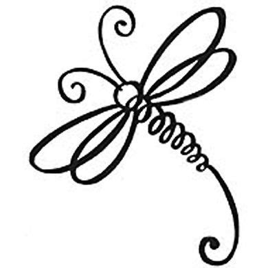 simple vinyl tattoo dragonfly vinyl decal email me at customizeddecals gmail