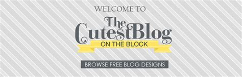 The Cutest Blog On The Block | the cutest blog on the block party invitations ideas