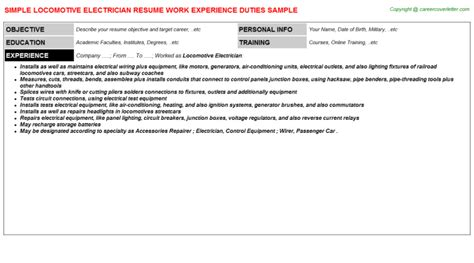 100 installation electrician cover letter sample