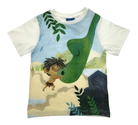 Blouse Cotton T Sum2 Disney boys disney the dinosaur arlo spot t shirt