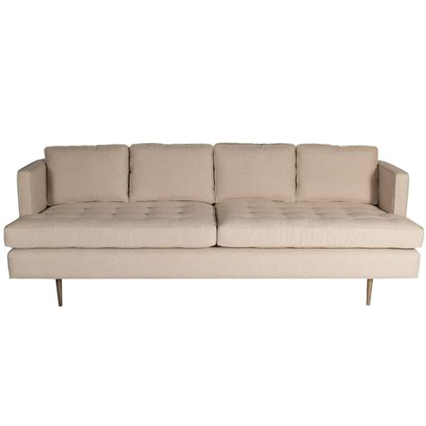 brown tufted sofa for sale at 1stdibs