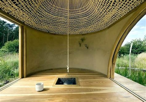 simple tea house design   japanese style  exotic elements interior design ideas