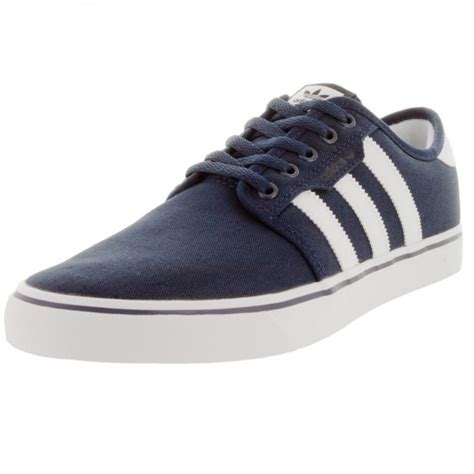 Adidas Seely Navy adidas seeley skate shoes navy white black