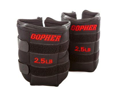 most comfortable ankle weights ankle wrist weights gopher performance