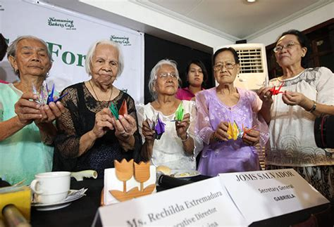 philippines comfort women time running out for pinay comfort women headlines news