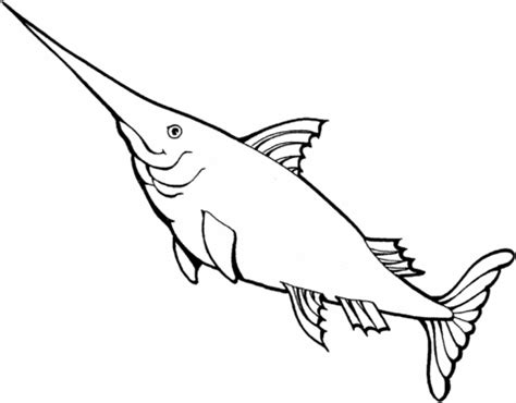 swordfish 3 coloring page | free printable coloring pages