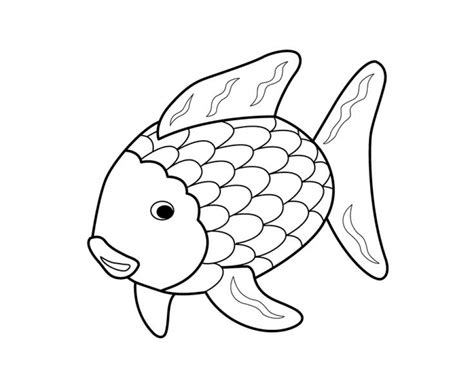 fisherman coloring page free printable coloring pages get this rainbow fish coloring pages free 7xve1