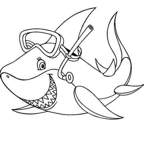 cute cartoon shark coloring pages coloring pages baby shark coloring pages 31672 how to draw sharks