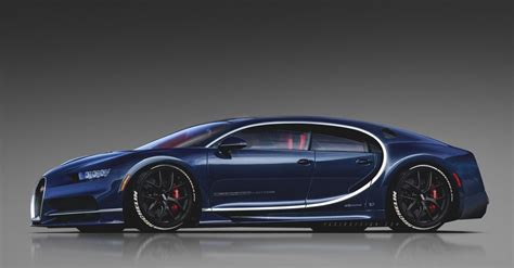 bugatti chiron sedan bugatti chiron shooting brake rendering looks like a one