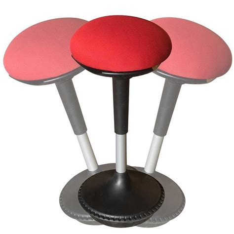 wobble stool adjustable height uncaged ergonomics