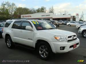 2007 Toyota 4runner Limited 2007 Toyota 4runner Limited 4x4 In White 094960