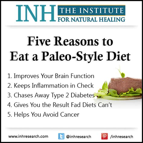 friday five reasons to eat a paleo style diet