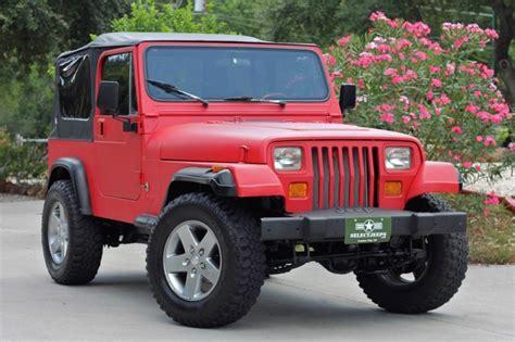 Jeep Renegade 1995 1995 Jeep Wrangler Pictures Cargurus