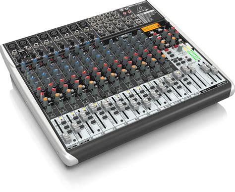Behringer Xenyx Qx2222usb Mixer With Effects qx2222usb analog mixers mixers behringer