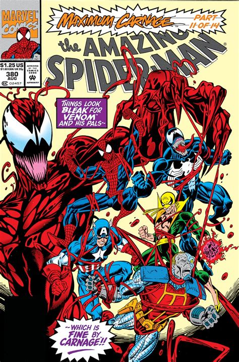 american carnage tales of trumpian dystopia books amazing spider vol 1 380 marvel database fandom
