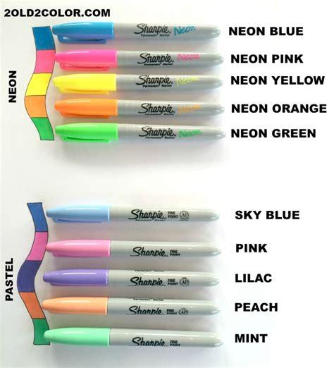 sharpie pen colors sharpie colors
