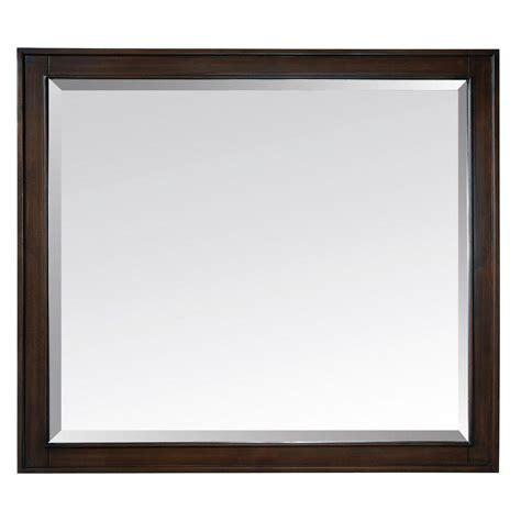 L Mirror by Avanity 36 In W X 32 In L Framed Mirror In Light