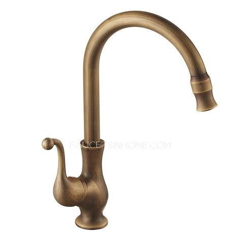 vintage kitchen faucet antique brass 360 rotate kitchen faucets vessel mount