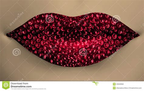 labios con glitter rojo brillantina youtube labios rojos con los diamantes stock de ilustraci 243 n